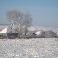 Зимняя улица в Жилино