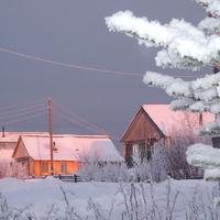 Яренск зимой