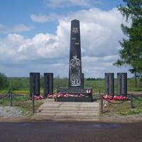 Обелиск памяти земляков, погибших в нрды великой Отечественной войны