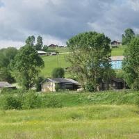 Село на угоре