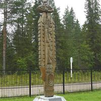 Памятный знак в честь лесозаготовителей Урдомы