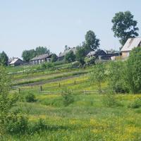Окраина поселка Нянда