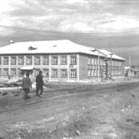 Урдомская средняя школа, 1963 год.