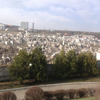 Блоки мрамора на заводе