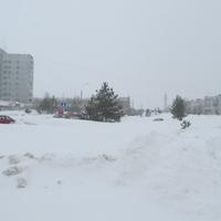 Улица Победы. Снегопад, март 2013.