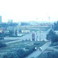 """1979 год, строительство магазина """"Будапешт"""""""