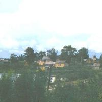 Вид с барской горки, 1987 г.