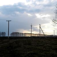 Пейзаж на окраине села