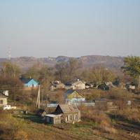 Вид села Свиягино (на карьер)