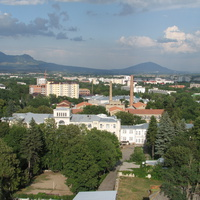 Вид в сторону Пятигорска