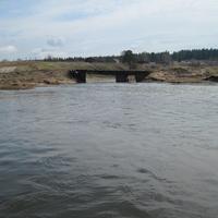 Мост через реку Тырым
