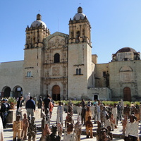 Оахака - площадь у Санто-Доминго