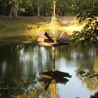 В городском парке. Август 2011.
