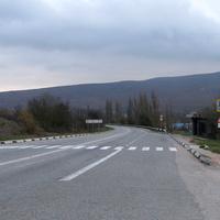 Дорога в сторону Севастополя