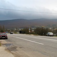 Дорога в сторону Ялты