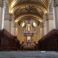 Лима - интерьер кафедрального собора