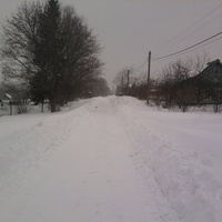 зима а Ладыгино