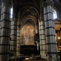 Siena, интерьер кафедрального собора