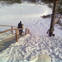 лестница по дороге М-Мунаморь