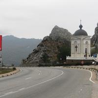 Автодорога Севастополь - Ялта, вид в сторону Фороса