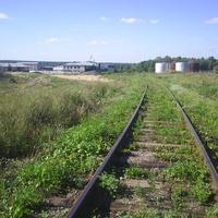 Железная дорога в сторону МСО