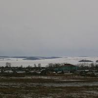 п.Приморский зимой