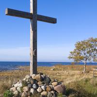 Крест у Ладоги