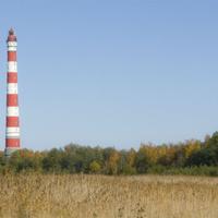 Стороженский маяк. h=72м. Построен в 1906 г., считается самым высоким в Европе.