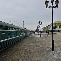 На вокзале