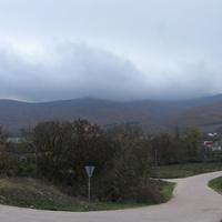 Дорога в сторону села