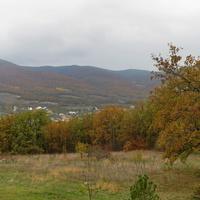 Вид на село с возвышенности