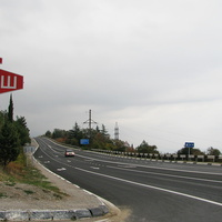 Шоссе Севастополь - Ялта возле Фороса