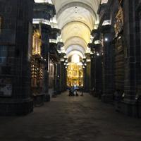 куско, интерьер кафедрального собора