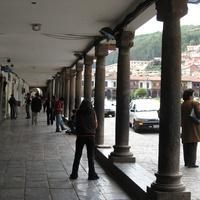 Куско. на пласа де армас