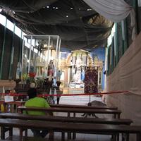 Писко, церковь после землетрясения