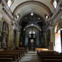 интерьер церкви Санто-Доминго