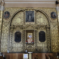 золото в церкви Санто-Доминго