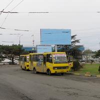 Остановка городского транспорта возле аэропорта