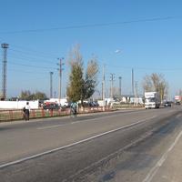 Автодорога в сторону Армянска
