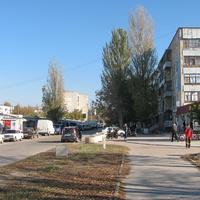 Улица возле рынка