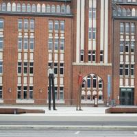 Гамбург Здание библиотеки