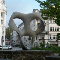 Гамбург. Скульптура в парке