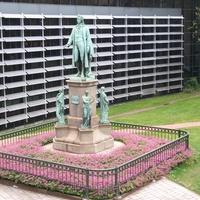 Гамбург. Памятник Шиллеру