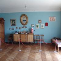 В доме-музее академика В.А.Амбарцумяна