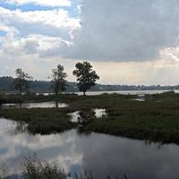 Слияние двух озер Долгого и Можайского.
