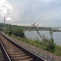 ж/д к станции Можайская.