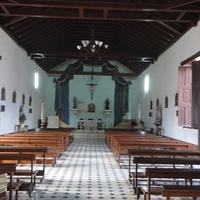 Тринидад, интерьер церкви