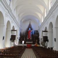 Тринидад, интерьер кафедрального собора