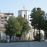 Храм Святого Саввы, вид с другой стороны.