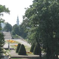 Парк в крепости.